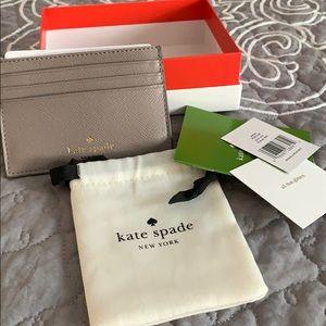 Glittery Kate spade card holder